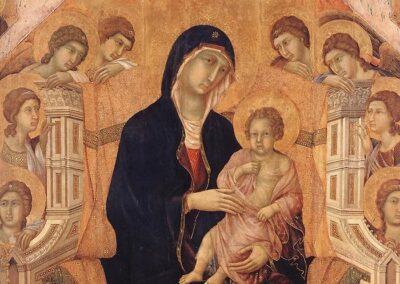 Maestà - Duccio di Buoninsegna - Museo dell'Opera della Metropolitana
